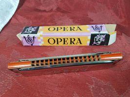 VINTAGE 50'S Opera Harmonica - Made in Germany in Original Box image 3