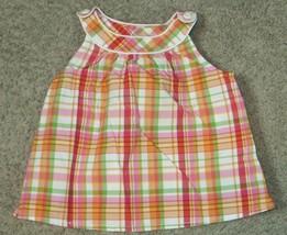 Gymboree Cherry Baby Plaid Shirt Size 4 - $9.49