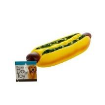 Giant Hot Dog Squeaky Dog Toy - $4.17