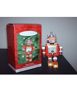 Hallmark 1st in Series Robot Parade Tin 1950's style Christm - $10.99