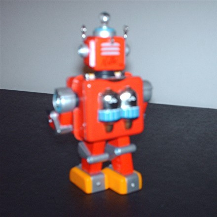 Hallmark 1st in Series Robot Parade Tin 1950's style Christm