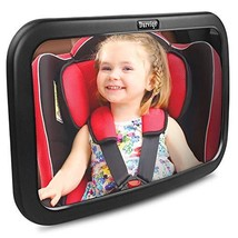 Baby Car Mirror, DARVIQS Car Seat Mirror, Safely Monitor Infant Child in... - $17.01