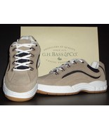 Boys G.H. Bass Suede Leather Athletic Shoes Sz 5 M New - $13.00
