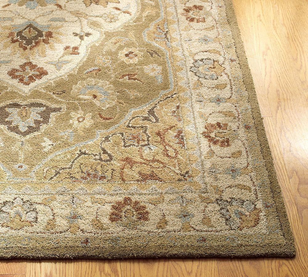New pottery barn handmade persian hayden area rug 5x8 for Hayden taylor designs jewelry