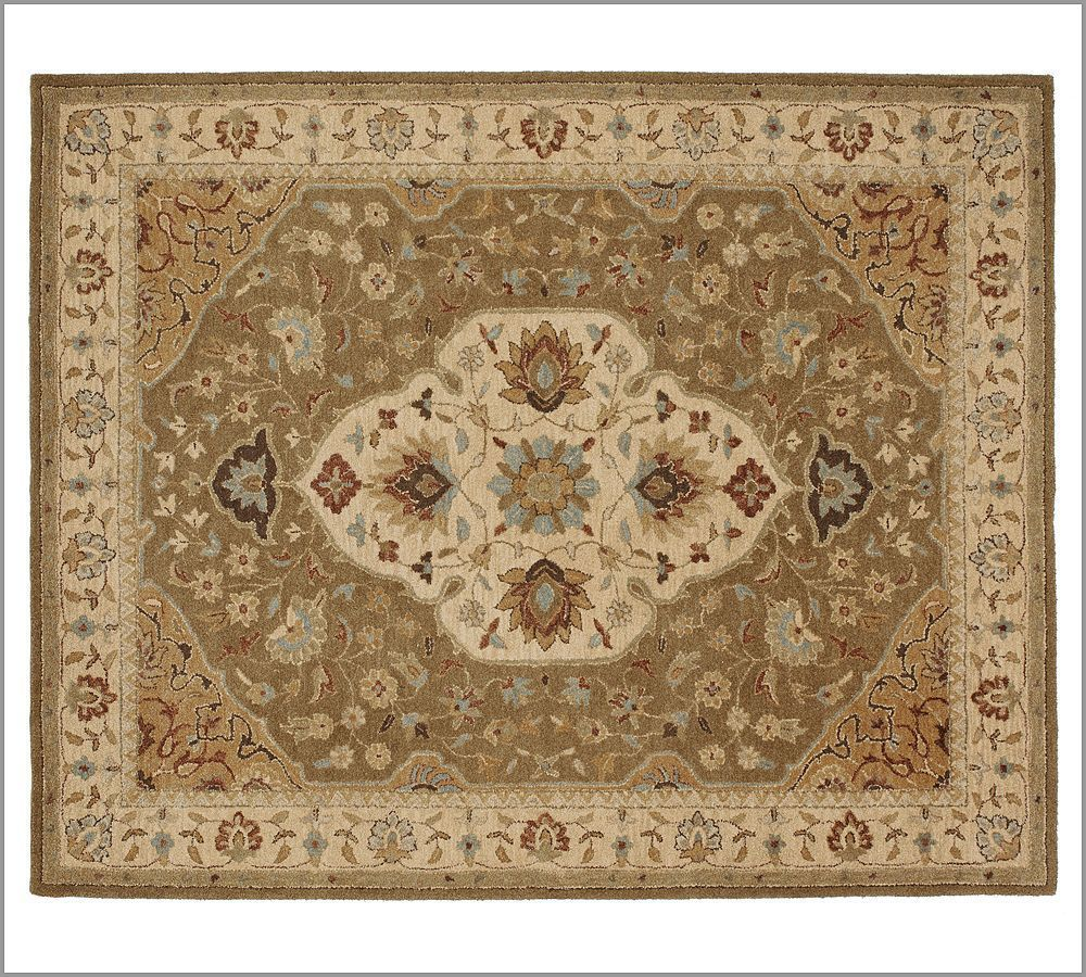New Pottery Barn Handmade Persian HAYDEN Area Rug 5X8