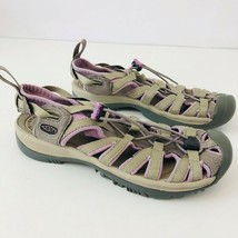 KEEN Newport Gray Purple Hiking Trail Walking Sandals Water Shoes Womens... - $31.96