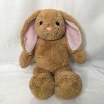 Build a Bear BAB Bunny Rabbit  15 inch Tan Pink Ears - $9.72