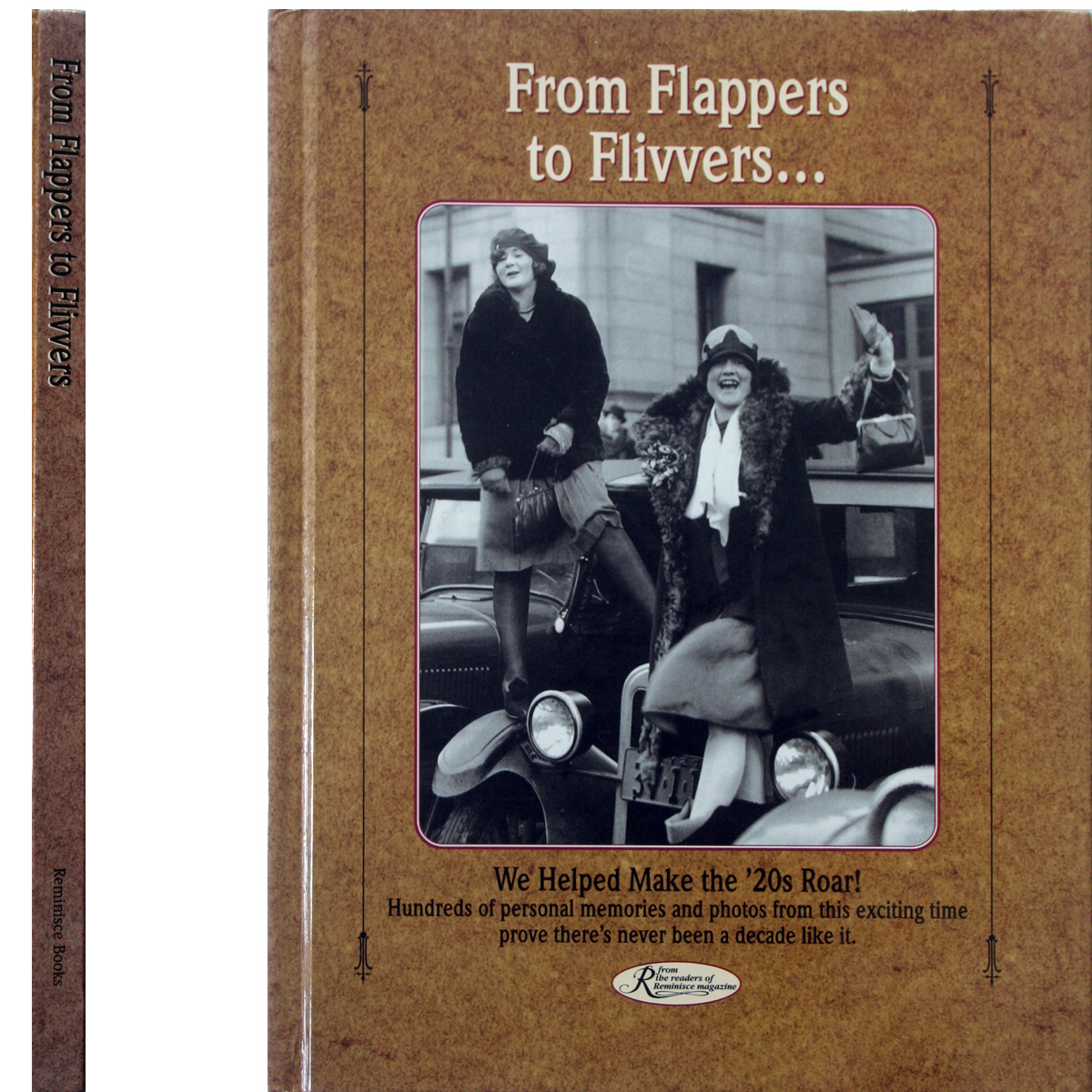 From Flappers to Flivvers OOP ROARING 20's Book Photos