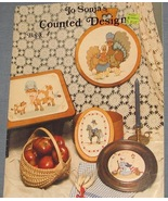 Jo Sonja's Counted Design Book 4 - cross stitch... - $4.50