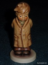 """""""TOO SHY TO SING"""" #845 Hummel Figurine TMK8 Cute Collectible Gift For Mom! - $24.43"""