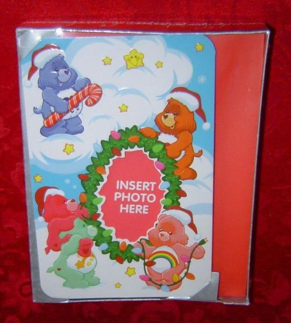 Care Bears Christmas Cards American Greetings photo insert style