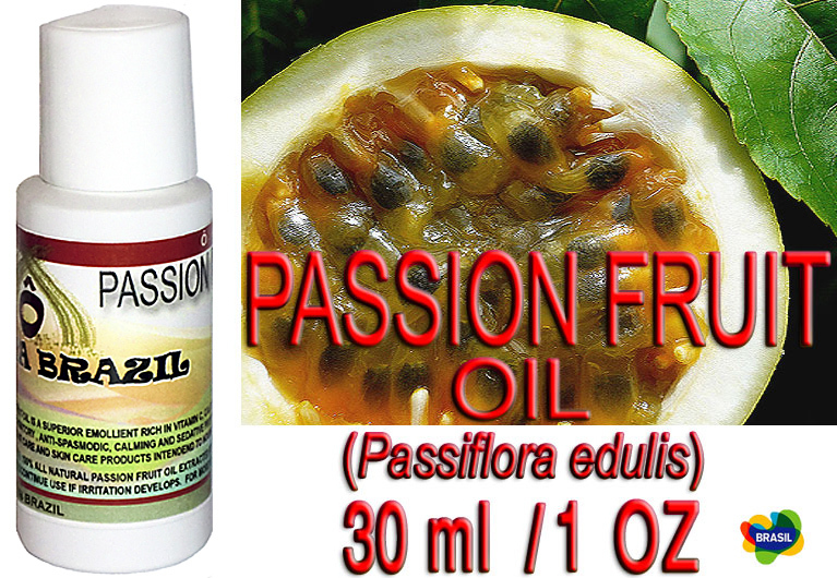 Brazilian Passion Fruit Oil  - Skin & Hair - Oca-Brazil