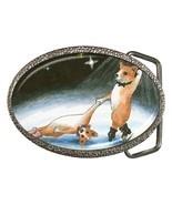 Belt Buckle Dog 59 corgi, from original Art Unique - $19.99