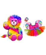 Build a Bear Rainbow Colored Lion Lollipop Fair... - $116.95