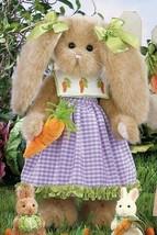 "Bearington Bears ""Carrey Carrots"" 14"" Plush Bunny- #420167- NEW- 2011 - $39.99"