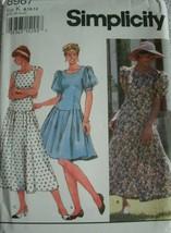 Misses Miss Petite Dress in 2 Lengths Simplicity Pattern 8967 MINT UNCUT... - $7.00