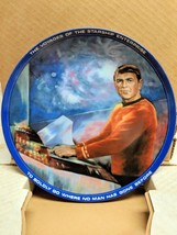 Scotty 1983 Star Trek Hamilton Plate w/ ORIGINAL BOX & COA - NEW OLD STOCK - $12.19