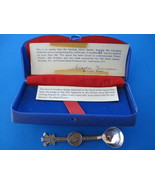 Prince Charles Sterling Silver Souvenir Collector Spoon Birthday Ostrich... - $249.99