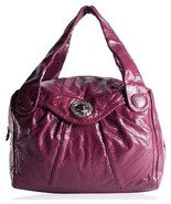 MARC JACOBS Posh Turnlock Remy Patent Leather Satchel Bag NEW $498 - $111.11