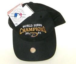Arizona Diamondbacks World Series Champions 2001 Black Hat NWT - $18.00