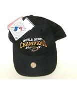 Arizona Diamondbacks World Series Champions 2001 Black Hat NWT - $19.36