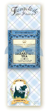 Tea scottie note pad