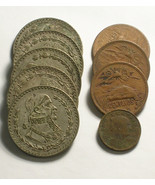 Group of 9 Coins from Mexico Pesos and Centavos - €8,83 EUR