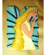 IUPPA CUT ACEO ORIGINAL Acrylic Painting Angel Fairy - $9.29