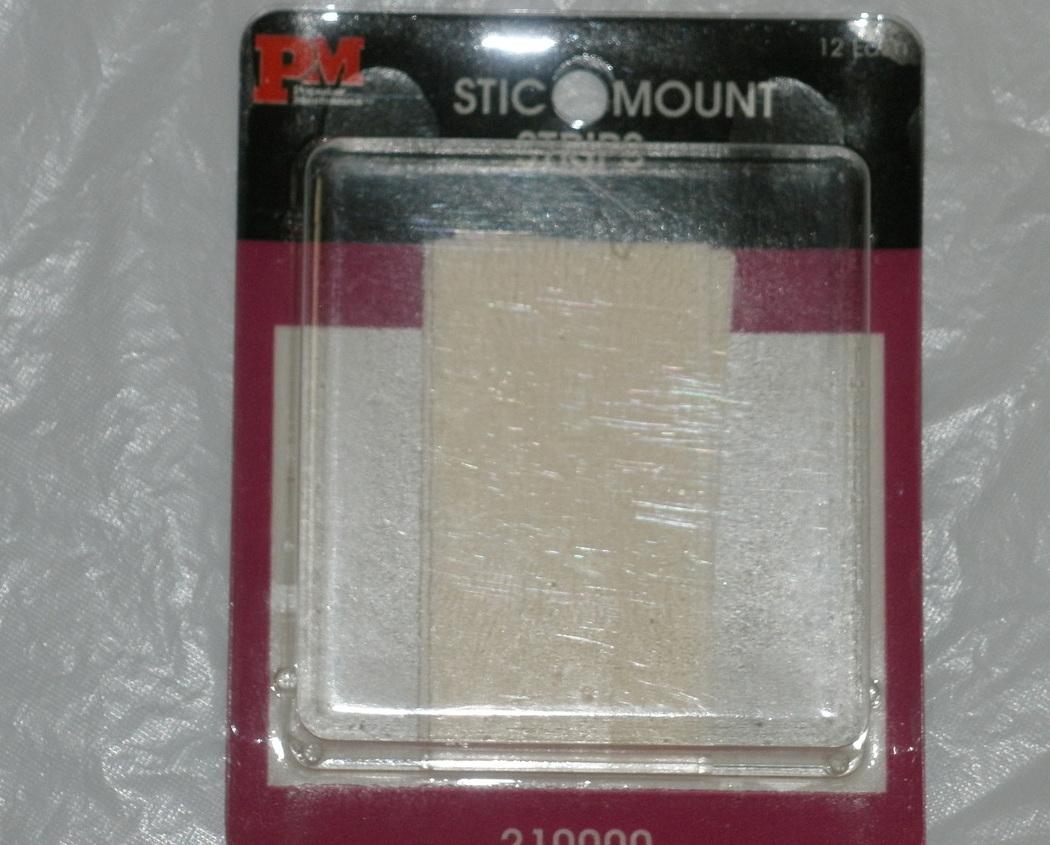 Stic mount strips