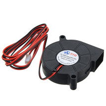 DC24V Cooling Fan Ultra Quiet Turbine Small DC Blower 5015 For 3D Printe... - $9.99