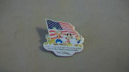 Mickey Mouse, Donald Duck, Pluto, Goofy Walt Disney I Thank America Pin 2002 - $14.85