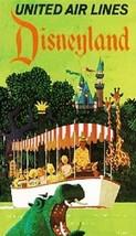 "Disneyland ""United Air Lines"" Magnet - $4.99"