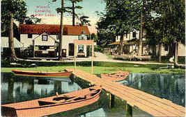 Indian Lake Michigan Wiest's Landing Vintage Post Card - $3.00