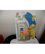 1990 The Simpsons Marge Figure In The Package - $14.99