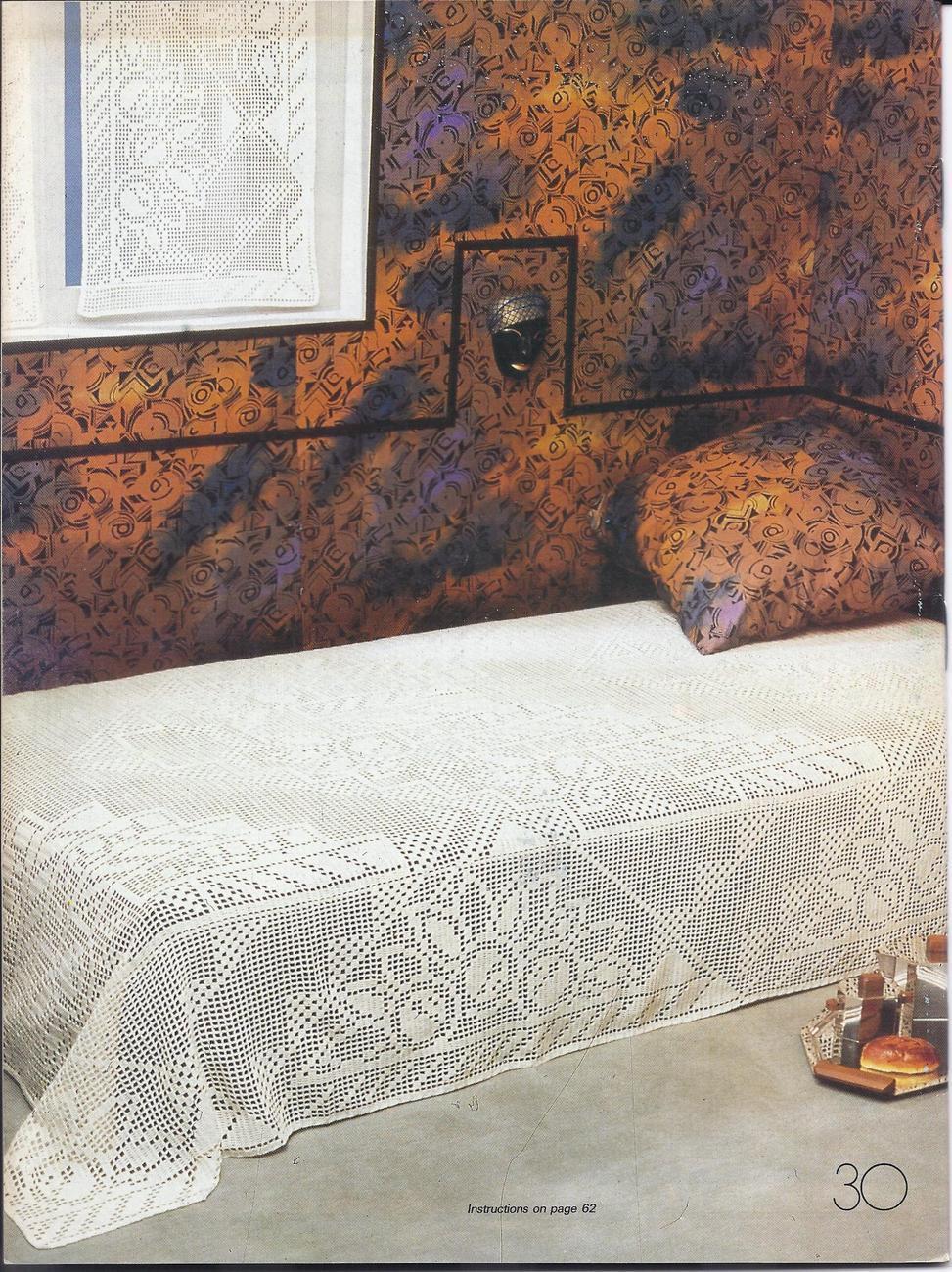 Decorative Crochet Pattern Magazine #21~~30 Patterns