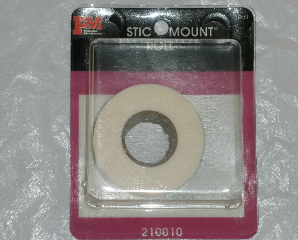 Stic mount 72 x 1 inch