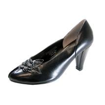 PEERAGE Reyna Women's Wide Width Leather Dress Pumps - $54.95