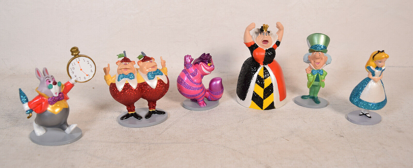 """Character From Alice in Wonderland Disney Alice 4/"""" Doll Figure Cake Topper"""