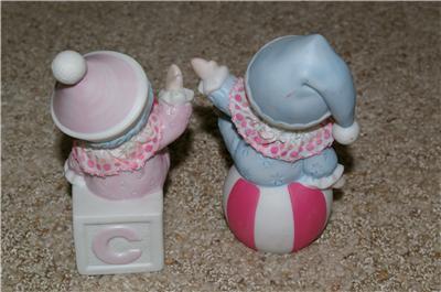 Homco Kid Clown Figurines 1451 Home Interiors