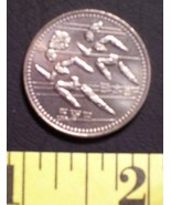 "Japanese 12th Asian Games Hiroshima 1994 ""Running"" 500 Yen  - $12.00"