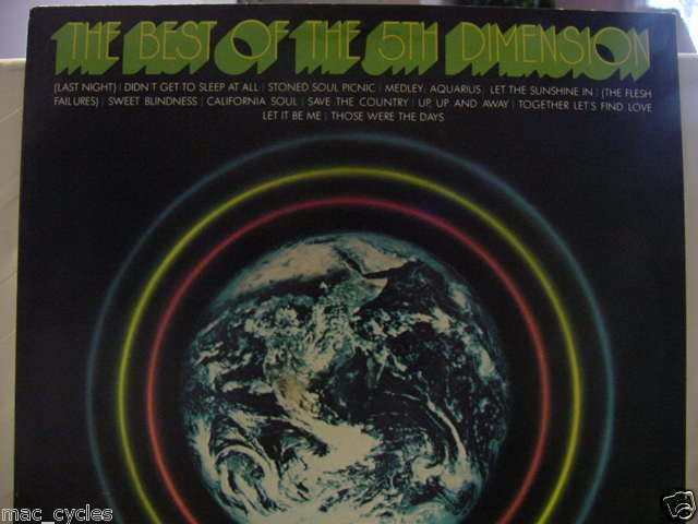 THE BEST OF THE 5TH DIMENSION LP