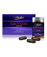 CELLLABS POSH D-CENTA DEER PLACENTA 30'S + 30'S Cell Labs Original FREE ... - $459.90