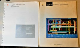 APPLE II SYSTEM DISK USER'S GUIDE & A TOUCH OF APPLESOFT BASIC **USED** ... - $34.65