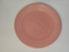 Vintage Fiesta Ware Pink 10-1/2 Inch Dinner Plate - $15.00