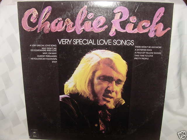 CHARLIE RICH VERY SPECIAL LOVE SONGS LP