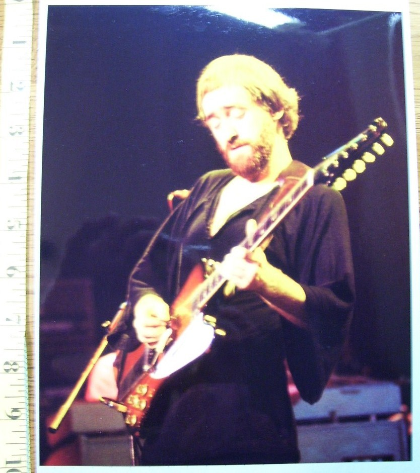 Primary image for Dave Mason Guitarist 8X10 Color Print 1977!