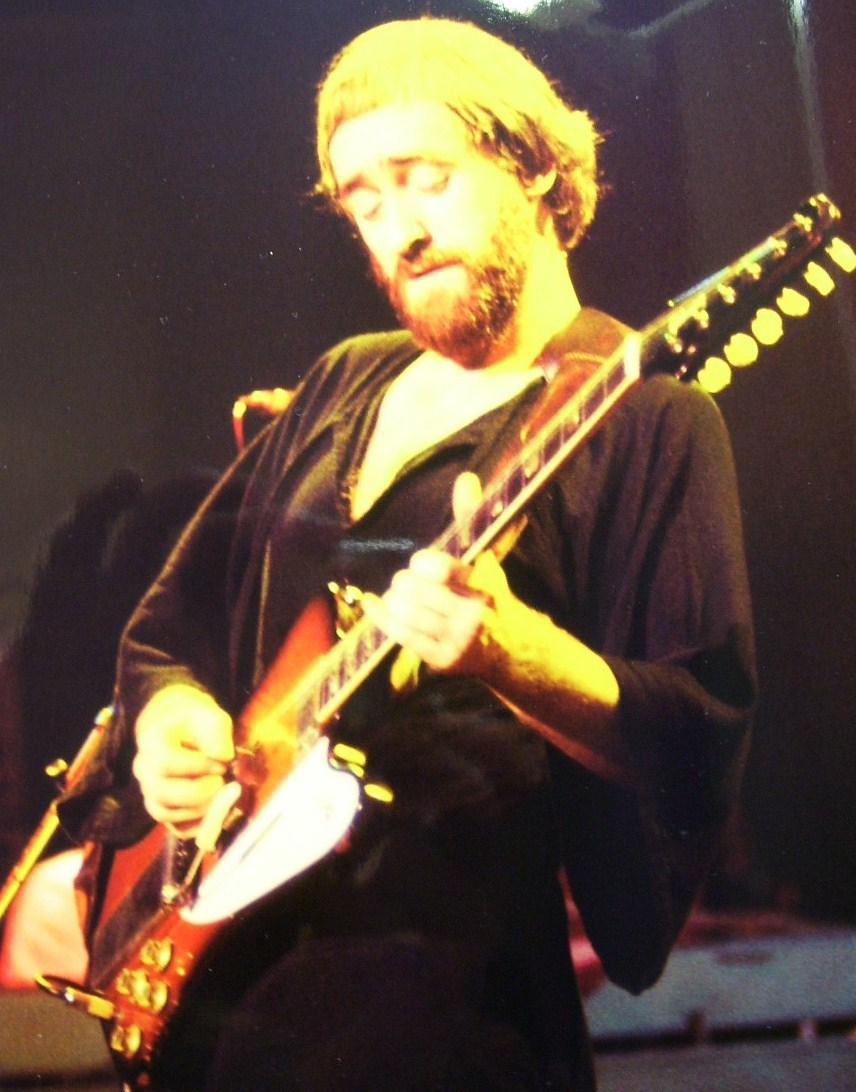 Dave Mason Guitarist 8X10 Color Print 1977!