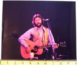 """Eric Clapton """"Hair & Beard"""" Days 8X10 Color Print 1977! - $25.00"""