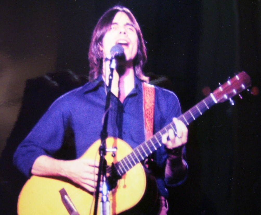 Jackson Browne 8X10 Color Print From 1977!