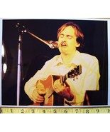 "James Taylor ""Steamroller Tour"" 8X10 Color Print 1977! - $10.80"